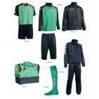 Set complet echipament fotbal Patrick Silver 030