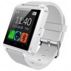 Ceas Smartwatch IMK U8+, Bluetooth, LCD 1.44, Pedometru, Barometru, Altimetru, Procesor 360MHz, Alb