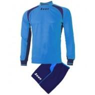 Echipament fotbal Kit Pippo ZEUS, Royal/Blue, XS