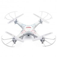 Drona Quadcopter 2.4G 4CH 6-Axis SYMA X5C, cu 2MP HD Camera, Alb