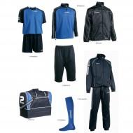 Set complet echipament fotbal Patrick Silver 108