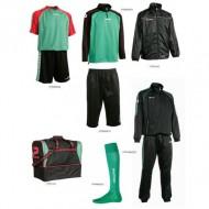 Set complet echipament fotbal Patrick Silver 110