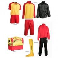 Set complet echipament fotbal Patrick Silver 219