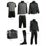 Set complet echipament fotbal Patrick Silver 003
