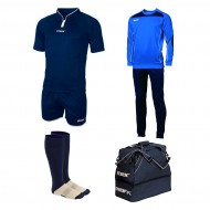 Set echipament fotbal Superbox Europa, Bleumarin, MAXSPORT