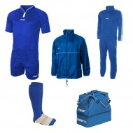 Set echipament fotbal Superbox Oceania, Royal, MAXSPORT