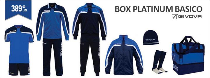 Echipament complet fotbal Platinum Givova