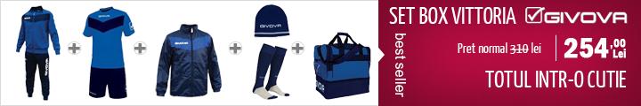 Set echipament fotbal Vittoria Givova