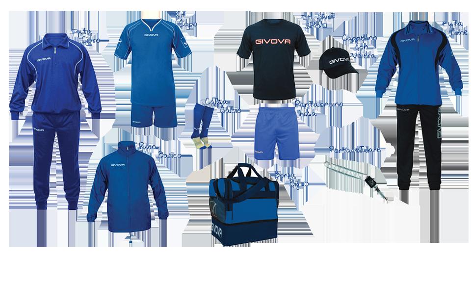 Oferta echipament sportiv Givova Portocervo
