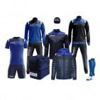 Echipament fotbal complet, Box Vesuvio - Bleumarin / Royal, ZEUS