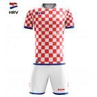 Echipament fotbal Kit Mundial - Croatia, ZEUS
