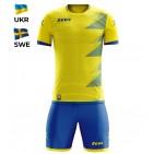 Echipament fotbal Kit Mundial - Suedia, ZEUS