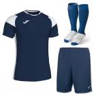 Set complet echipament fotbal Crew III, JOMA