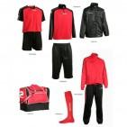 Set complet echipament fotbal Patrick Silver 006