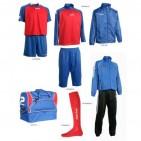 Set complet echipament fotbal Patrick Silver 125