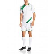 Echipament fotbal kit NAIROBI LEGEA Alb-Verde Masura M