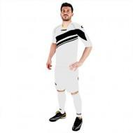 Echipament fotbal Kit Labraza LEGEA ALB-NEGRU MARIME XL