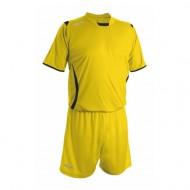 Echipament fotbal galben negru galben GECO