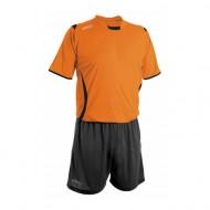Echipament fotbal portocaliu negru negru GECO