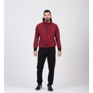 Trening Double Lines Bordo+Negru