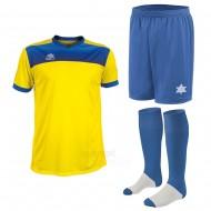 Echipament fotbal Bolton, tricou, sort si jambiere, LUANVI