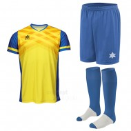 Echipament fotbal Napoli, tricou, sort si jambiere, LUANVI