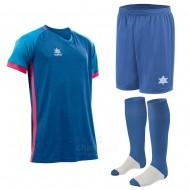 Echipament fotbal Aston, tricou, sort si jambiere, LUANVI