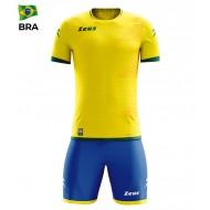 Echipament fotbal Kit Mundial - Brazilia, ZEUS