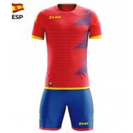Echipament fotbal Kit Mundial - Spania, ZEUS