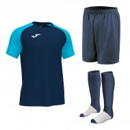 Set echipament fotbal, tricou Academy IV JOMA, sort si jambiere Concept Champion