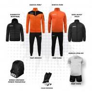 Set complet fotbal, Bomba New, Orange/Negru, LEGEA