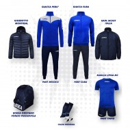 Set complet fotbal, Bomba New, Royal/Bleumarin, LEGEA