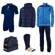 Set echipament fotbal Superbox Asia, Bleumarin, MAXSPORT