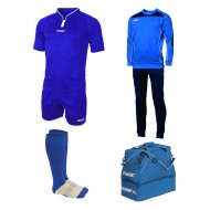 Set echipament fotbal Superbox Europa, Royal, MAXSPORT