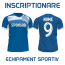 Imprimare numar si nume pe tricou, personalizare echipament fotbal