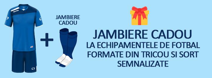 Echipament fotbal - Jambiere cadou