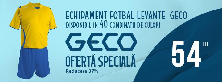 Echipament fotbal Geco